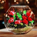 Бизнес идея: цветы в глицерине.