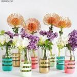 Простой мастер-класс как сделать стильные вазочки?