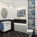 Дизайн плитки для ванной комнаты: мы создаем изысканный интерьер своими руками.