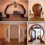 Межкомнатные арки в интерьере.