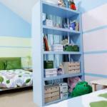 Варианты расстановки мебели в детской комнате.