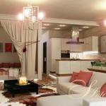Дизайн интерьера одно - комнатной квартиры студии.