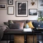 Комфортная планировка и шкафы - невидимки: квартира в Швеции.