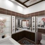 Ванная комната в японском стиле - это красиво, гармонично, просто и со вкусом.
