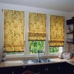 Какими должны быть шторы на кухне?