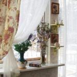 Шторы с цветочным принтом или как создать летнее настроение у себя дома.