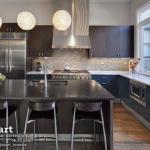 Сочетание цветов в интерьере кухни - 6 примеров.