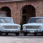 Fiat 124 vs Lada 1200.