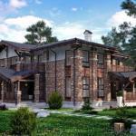 Как вам нравится вот такой дом, в стиле современного шале?