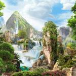 Современные фотообои водопады - это не те обои, которые мы привыкли видеть в домах раньше.
