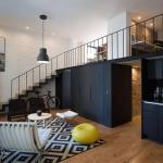 Мы представляем вам стильные апартаменты в мехико с мезонином и потрясающим видом на квартиру.