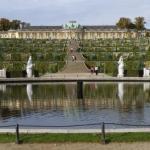 Дворец сан - суси (Sanssouci).