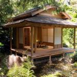"""Тясицу (яп., """"Чайный Павильон"""") - чайный домик, атрибут японской чайной церемонии."""