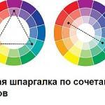 """Рубрика дня: """"О Сочетании Цветов""""."""