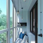 Лоджия - это сакральное место, соединяющее жилое пространство с внешним миром.