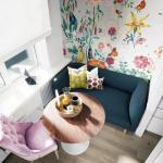 Красочный дизайн маленькой квартиры!