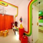 Радужный дизайн квартиры.