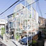 Прозрачный жилой дом House Na (Токио) - возведен в 2012 году и похож больше на строительные леса, нежели на жилой дом.