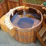 Какие бывают купели и бассейны для бани.