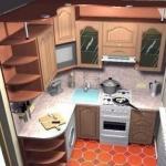 Малосемейки, хрущевки и прочие квартиры старого фонда не могут похвастаться кухней с большой квадратурой.