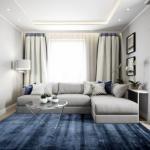 Дизайнер Ольга Иванова рассказала, как оформила трехкомнатную квартиру в квартале Forrest.