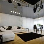 Что делать с низким потолком: хитрые способы декора?