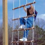 Веревочная лестница своими руками.