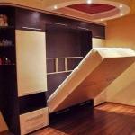 Конструктивные особенности кровати - шкафа.