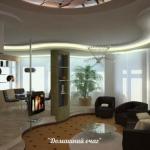 Дизайн квартиры - студии.