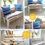 Уютный диванчик из деревянного поддона?