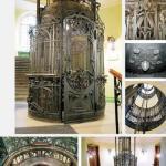 Cтаринные лифты Петербурга, действующие в наше время.