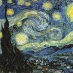 """Винсент ван Гог """"Звёздная Ночь"""" (1889."""