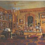 В середине XIX столетия, тема интерьера приобрела особую популярность в русском искусстве, главным образом в живописи.