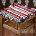 Плетенный коврик своими руками.