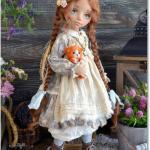 """Кукла """"Маруся"""". Каждый человек когда - нибудь в жизни мечтал, на то он и человек."""