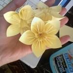 Красивый цветок в технике оригами?