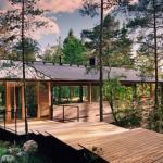 Kekkap?  - частная резиденция в сосновом лесу.