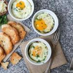 Семь идей быстрого завтрака из яиц.