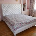 Красивая кровать Моника в классическом стиле от фабрики Sofi.