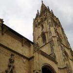 Готический кафедральный собор святого спасителя Овьедо находится в центре города на улице калье де Санта Анна неподалеку от здания ратуши Овьедо.