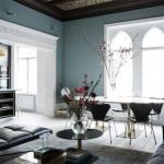 Стильный интерьер квартиры блогера в Стокгольме.