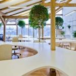 Дизайн интерьера офиса Greenhouse от студии Openad.