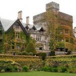 Средневековый замок хэтли на острове Ванкувер.