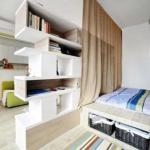 Функциональное зонирование комнаты: 6 способов, 10 примеров.