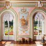 Три зала китайского дворца открыли в ораниенбауме после реставрации.