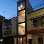 Дом шириной 1, 8 метра в Японии ч. 1.